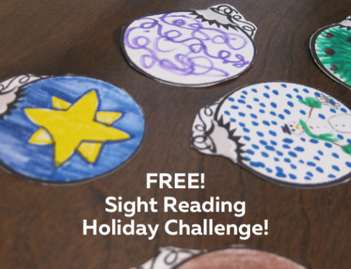 Sight Reading Holiday Challenge