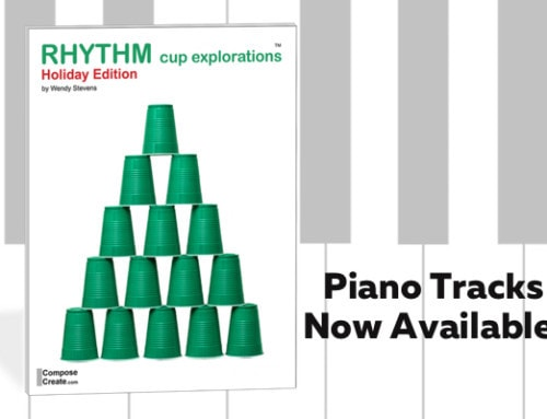 Now Available: Piano Tracks for Holiday Rhythm Cups!