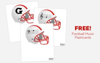 Free football Music Flashcards!