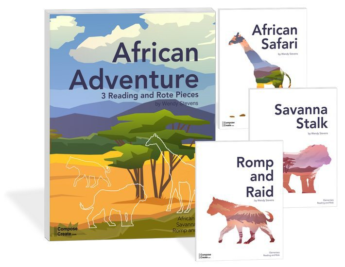 The African Adventure Rote and Reading series