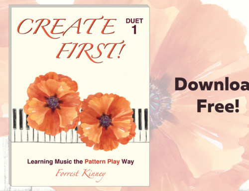 Teach Piano Improvisation with Forrest Kinney – Get the Create First Duet Book FREE