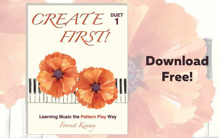 Download Forrest Kinney's new book on teaching piano improvisation for free! ComposeCreate.com