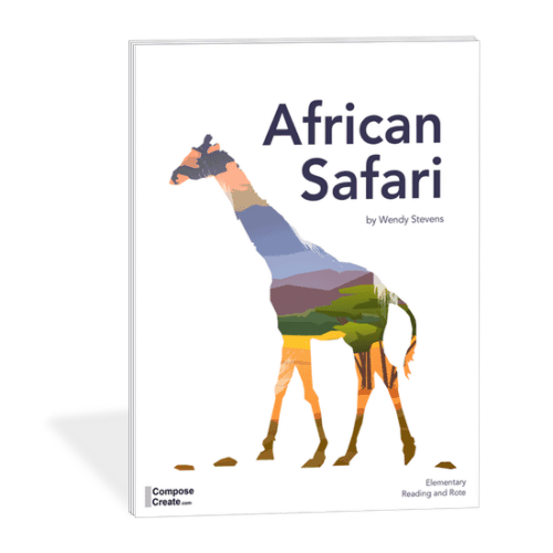 African Safari - Rote and Reading series