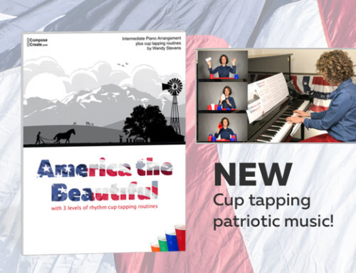New Epic-Sounding Cup Tapping Patriotic Music!