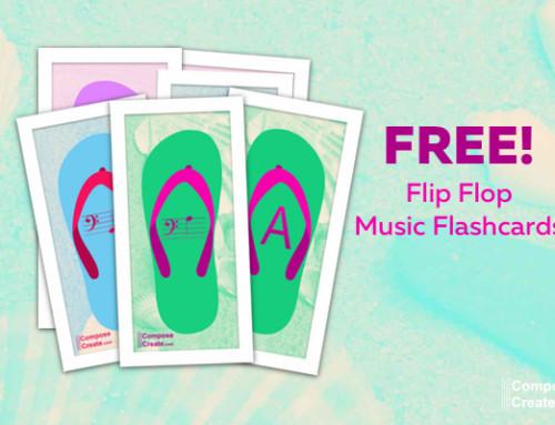 NEW! Music Flip Flop Flashcards