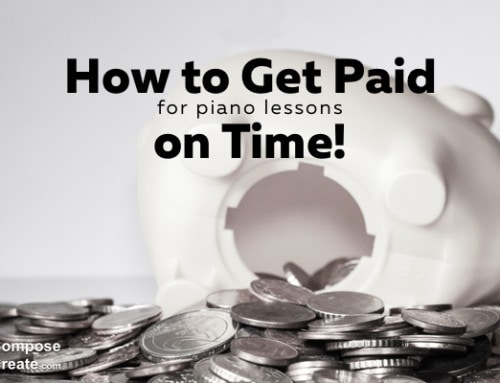How to Get Paid on Time for Piano Lessons