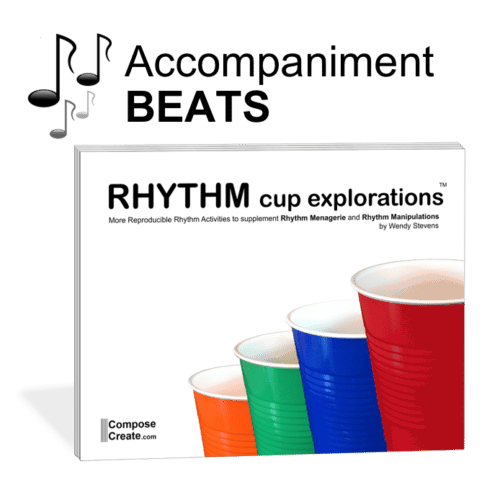 Rhythm cup explorations 1 beats to go with Rhythm Cup Explorations 1