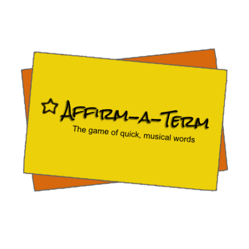 Affirm-a-term is a fast paced game to help students understand musical terms. Great for all ages, even adults! | ComposeCreate.com