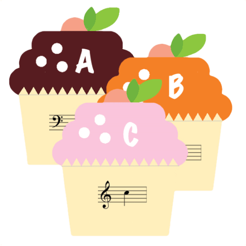 Cupcake Note Match - a sweet music note matching game! | ComposeCreate.com