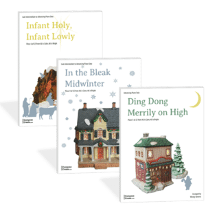 BUNDLE: In the Bleak Midwinter + Infant Holy Infant Lowly + Ding Dong Merrily - All is Calm All is Bright 2016 bundle