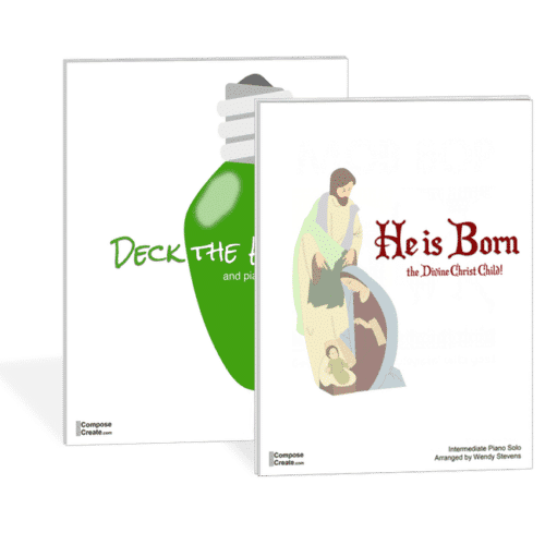 He is Born and Deck the Hall bundle - by Wendy Stevens | ComposeCreate.com