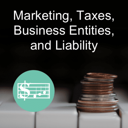 """""""Marketing, Taxes, Business Entities, & Liability for the Piano Teacher"""" – Piano Teaching Business Workshop by Wendy Stevens on ComposeCreate.com"""