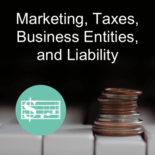 """Marketing, Taxes, Business Entities, & Liability for the Piano Teacher"" – Piano Teaching Business Workshop by Wendy Stevens on ComposeCreate.com"