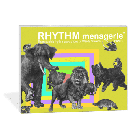 Rhythm Menagerie - an exciting, reproducible rhythm curriculum for classroom and private piano teaching by Wendy Stevens | ComposeCreate.com