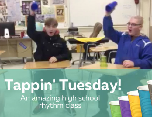 Tappin' Tuesday – An exciting classroom Rhythm Cup idea!