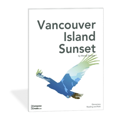 Vancouver Island Sunset - Canadian piano music from ComposeCreate.com