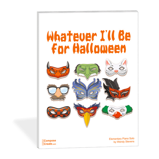 New 2017 Halloween Piano Sheet Music by Wendy Stevens | ComposeCreate.com