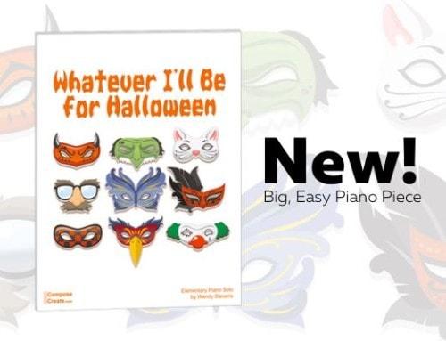 New 2017 Halloween Piano Sheet Music!