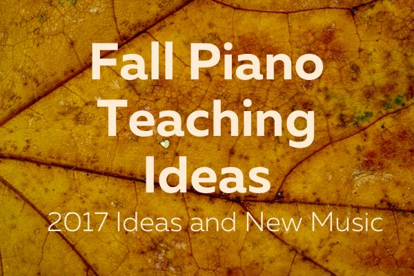 Fall Piano Teaching ideas and new music from ComposeCreate.com