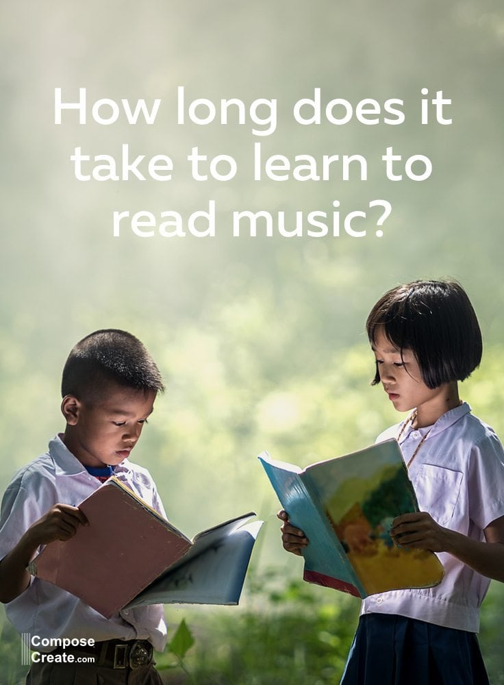 How Long Does It Take To Learn To Read Music? And Teach It
