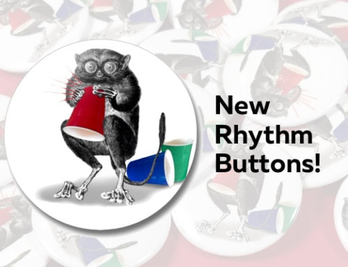 New Rhythm Buttons! – Fun Bling!