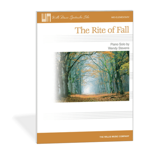Fall Piano Teaching Ideas - The Rite of Fall - a fun, elementary, Stravinsky-inspired halloween piece for piano students!