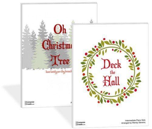 Deck the Hall and O Christmas Tree Intermediate Bundle