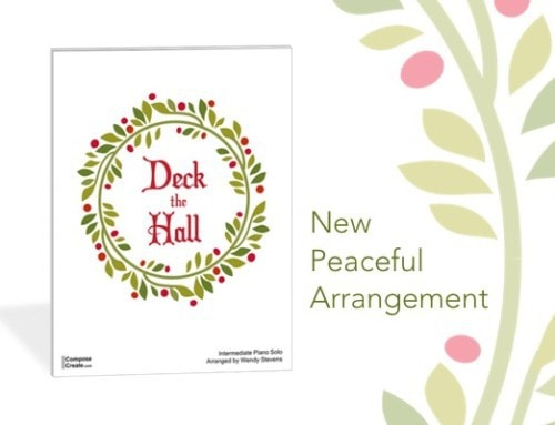 New! Peaceful Deck the Halls Arrangement