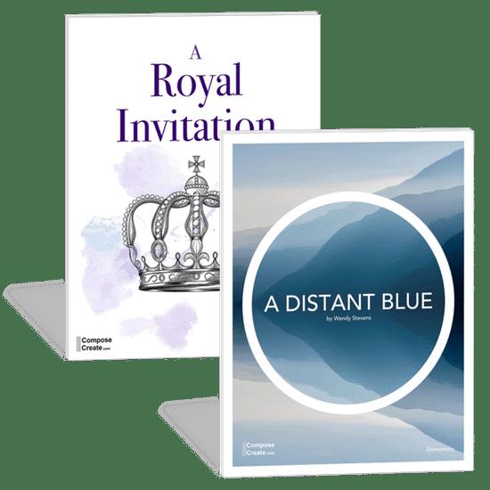 Bundle: A Distant Blue, A Royal Invitation