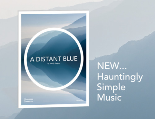 What Does Blue Sound Like? New Easy Haunting Piano Solo